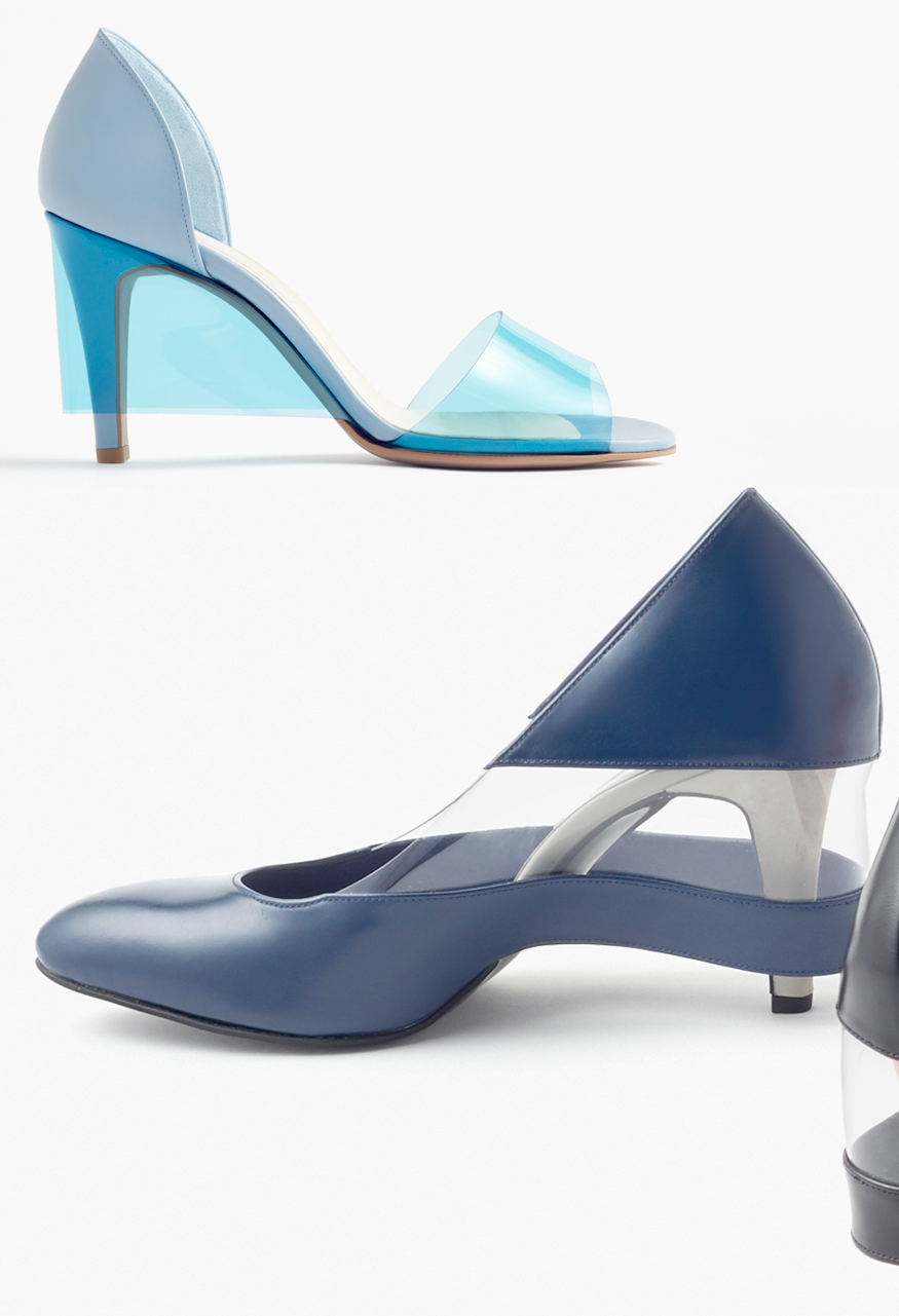 Designer shoes from by Nendo