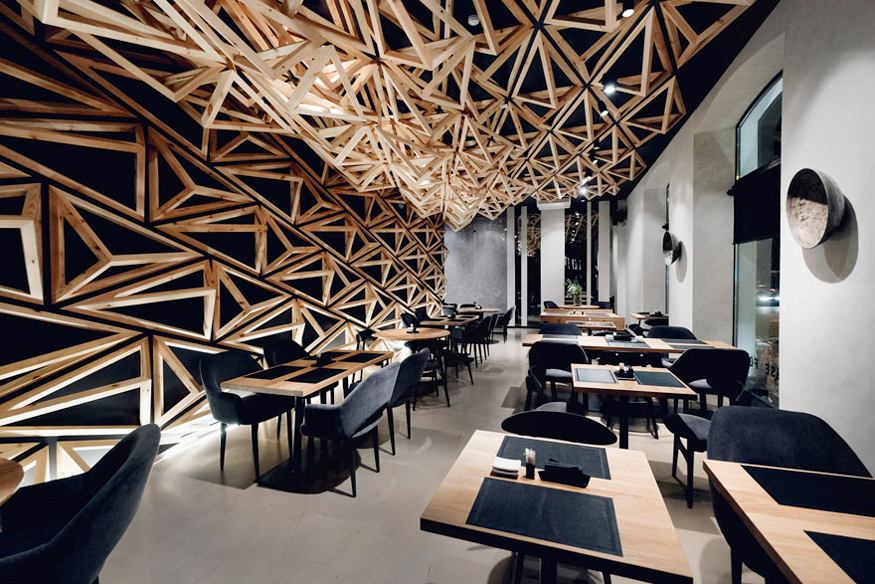 Japanese Bar by DA architects