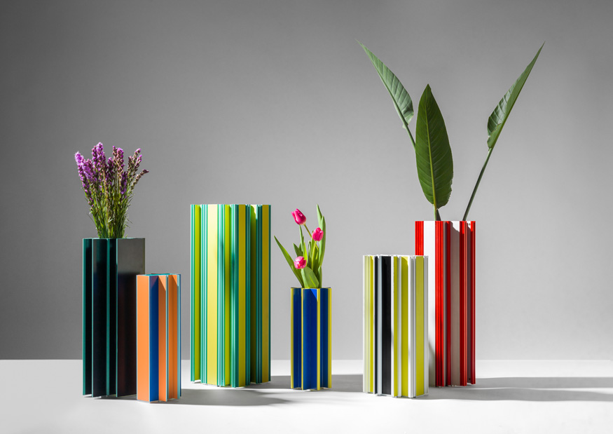 ISaloni 2019: eternal Piscis vases by Jorge Penades for BD Barcelona