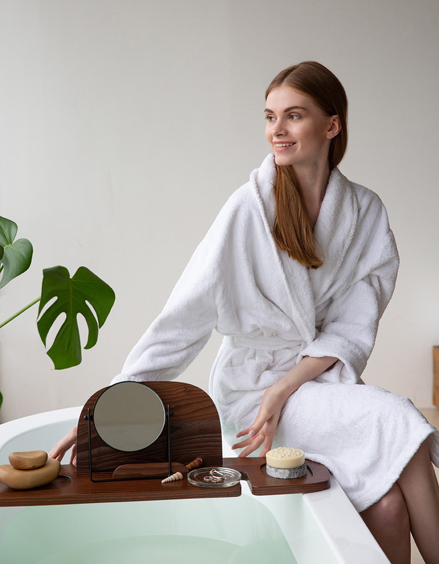 Spa-shelf Bonum, design Anna Strupinskaya for Amovino, photo Amovino