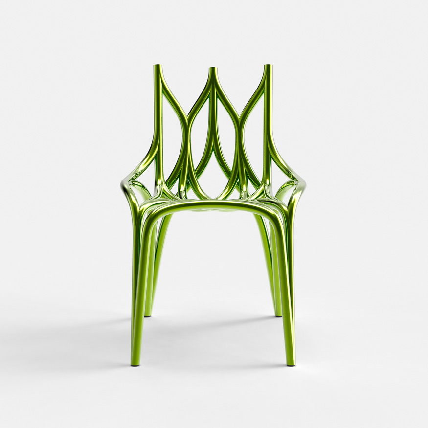 Wild chair Back to the ROOTS, designed by Eugeni Quitllet
